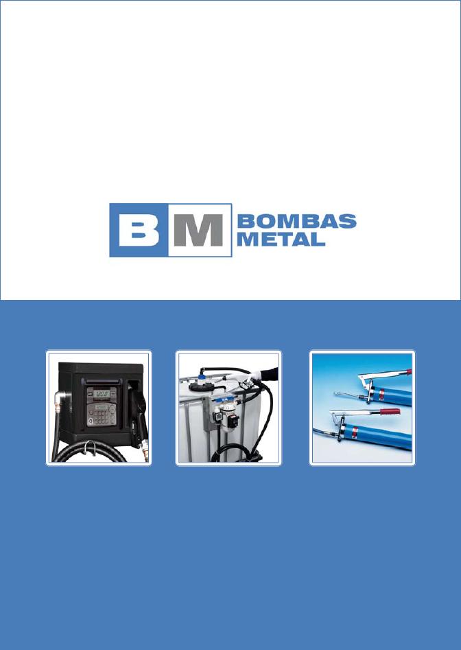 Catálogo Bombas Metal 2016