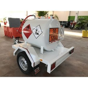 Remolque + depósito homologado ADR para transporte Gasoil - 450L